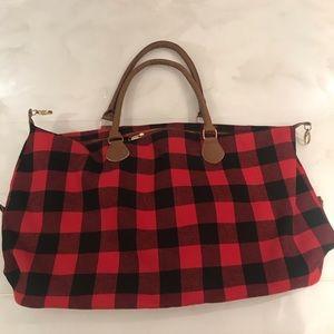 Handbags - Plaid travel bag